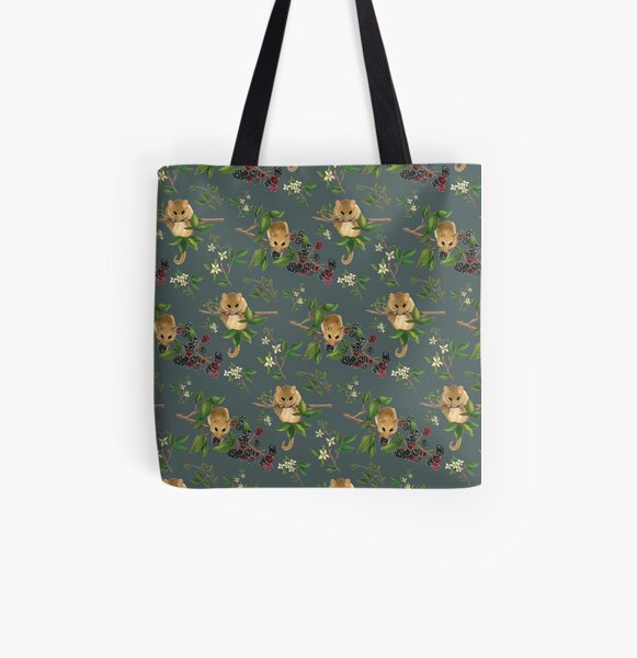 Hazel Dormouse All Over Print Tote Bag