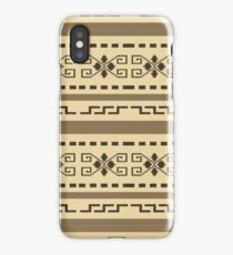 Big Lewbowski Cardigan pattern iPhone Case/Skin