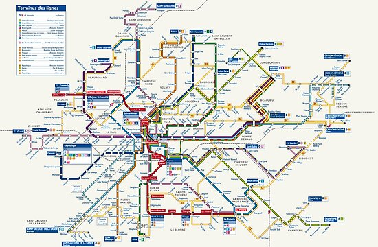 France Subway Map.Rennes Metro Map France Posters By Superfunky Redbubble