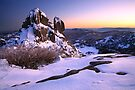 A crystal clear winter dawn, The Cathedral, Mt Buffalo, Australia by Michael Boniwell