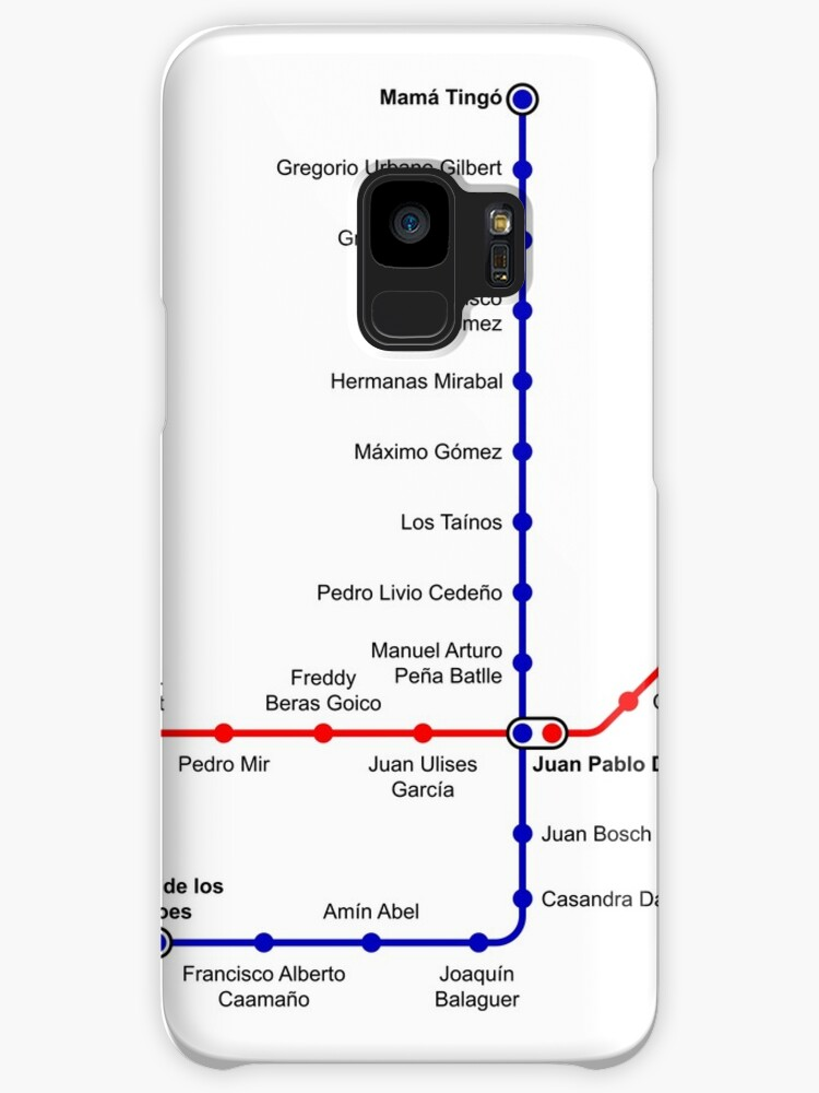 Santo Domingo Metro Map.Santo Domingo Metro Map Dominican Republic Cases Skins For