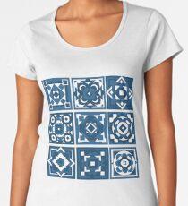 Geometric Tiles Women's Premium T-Shirt