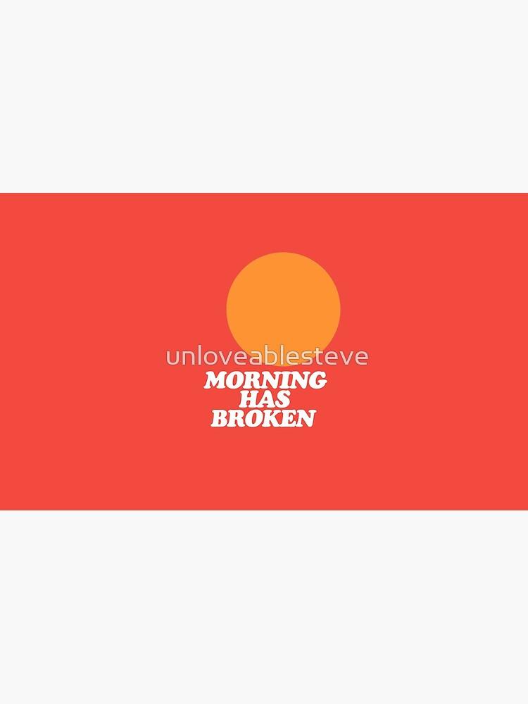 Morning Has Broken classic retro school hymn book cover by unloveablesteve