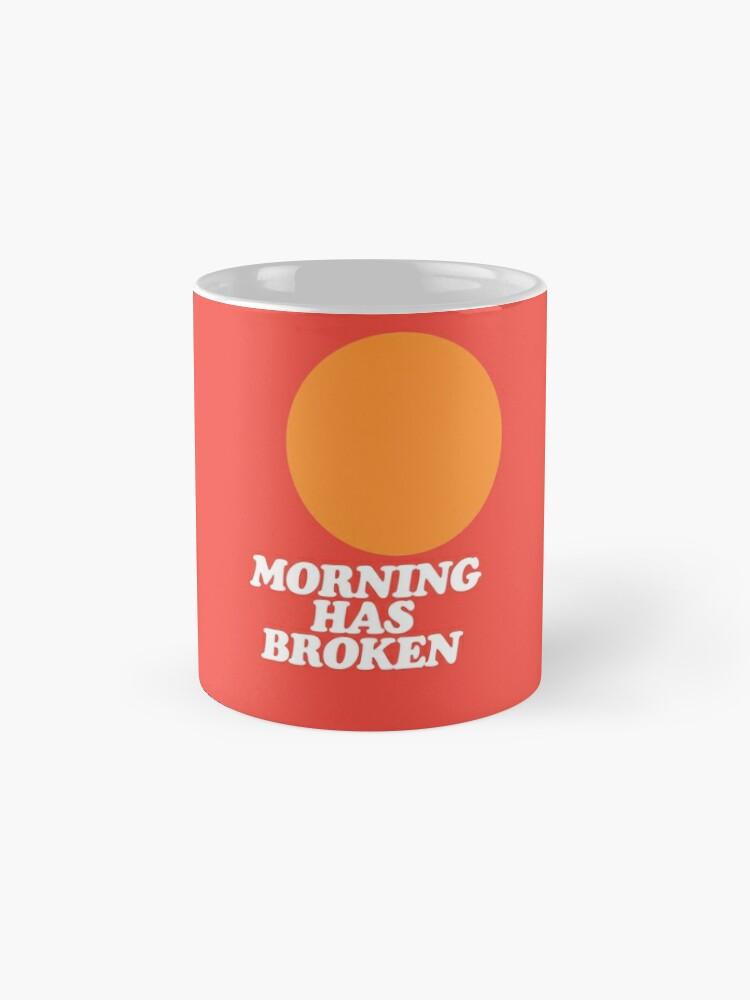 Alternate view of Morning Has Broken classic retro school hymn book cover Mug