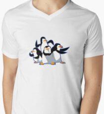 The cutest penguins Men's V-Neck T-Shirt