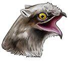 Potoo bird cat by dragongirl222