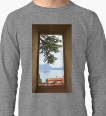 A Pine Branch over the Red roof through the Window 2011 Lightweight Sweatshirt