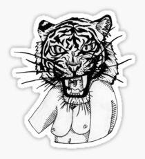 Tiger Sticker
