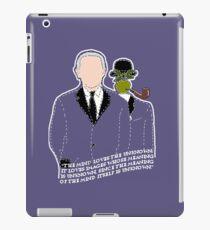 René Magritte iPad Case/Skin