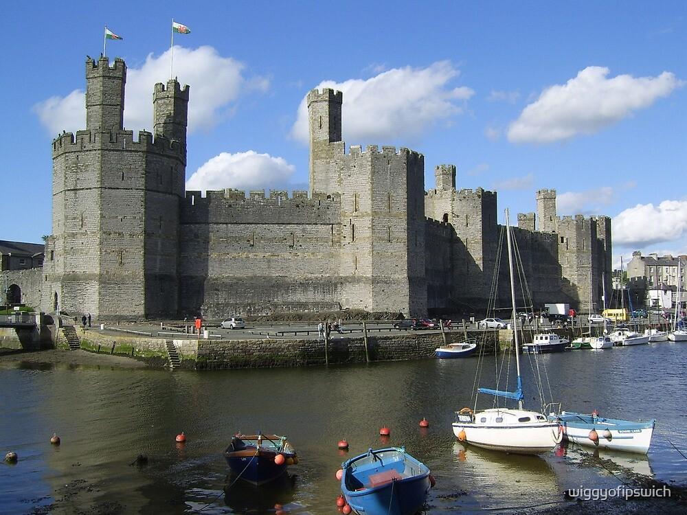 Caernarfon Castle by wiggyofipswich