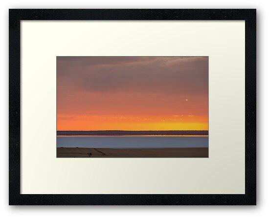 Yarra Yarra Sunset by Werner Padarin