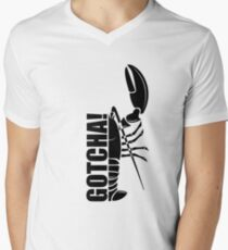 Gotcha! Jordan Peterson Men's V-Neck T-Shirt