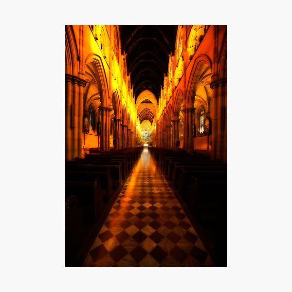 House of Darkness, House of Light Photographic Print