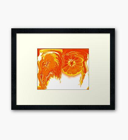 Crush on me! Framed Print