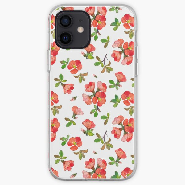 Quince Blossoms iPhone Soft Case