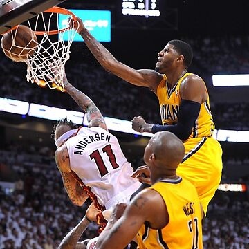 Paul George On Chris Andersen by txeyang