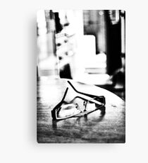 Glasses On Table (HC) Canvas Print
