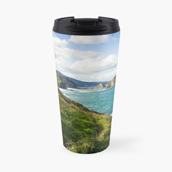 Basque Country coast landscape Travel Mug