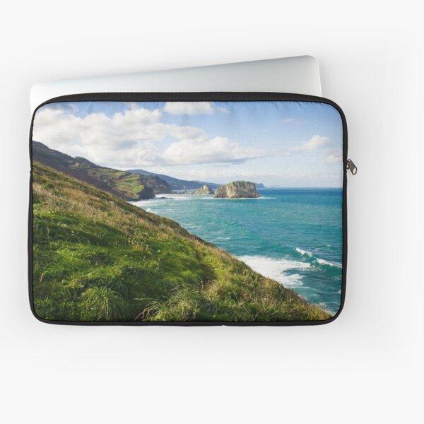 Basque Country coast landscape Laptop Sleeve