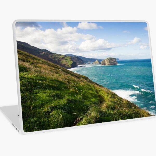 Basque Country coast landscape Laptop Skin