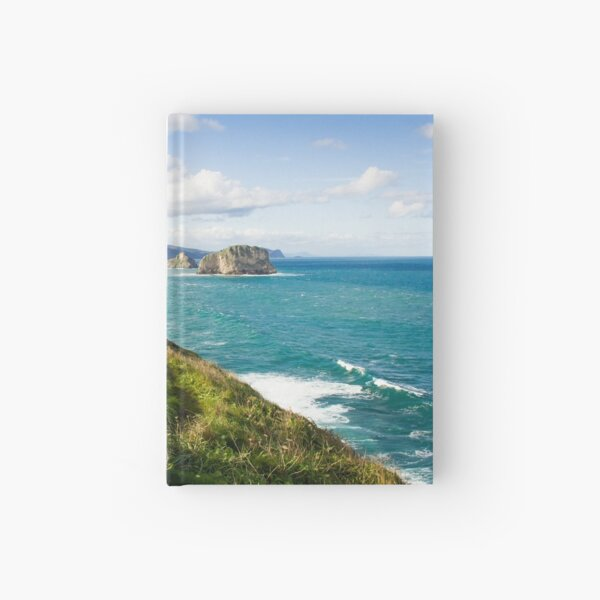 Basque Country coast landscape Hardcover Journal
