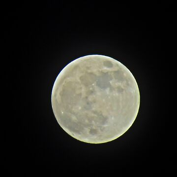 Full Moon Jan 30 2018 by MaeBelle