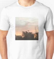 orange afternoon aesthetic sky Unisex T-Shirt