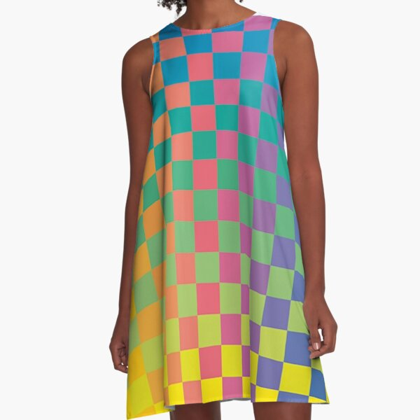 How Physics and Maths helped create modernist painting A-Line Dress