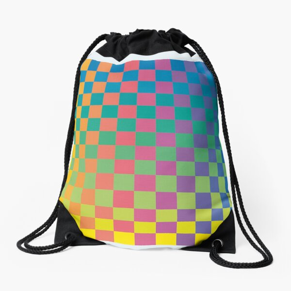 How Physics and Maths helped create modernist painting Drawstring Bag