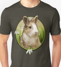 Cute Bunny - Graphic Style Unisex T-Shirt