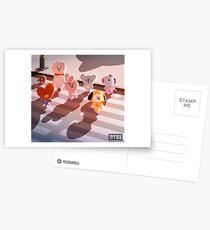 BT21 Postcards