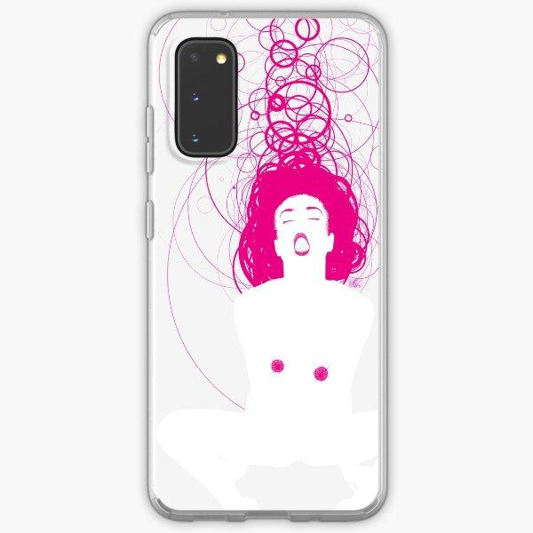 magenta girl Samsung Galaxy Soft Case