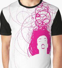 magenta girl Graphic T-Shirt