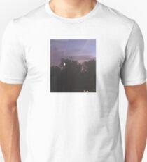 Purple Night Aesthetic sky  Unisex T-Shirt