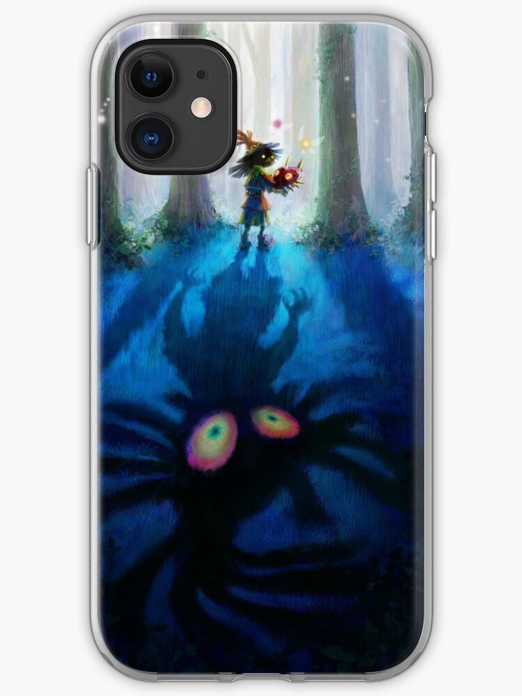 zelda mask skull kid iphone case