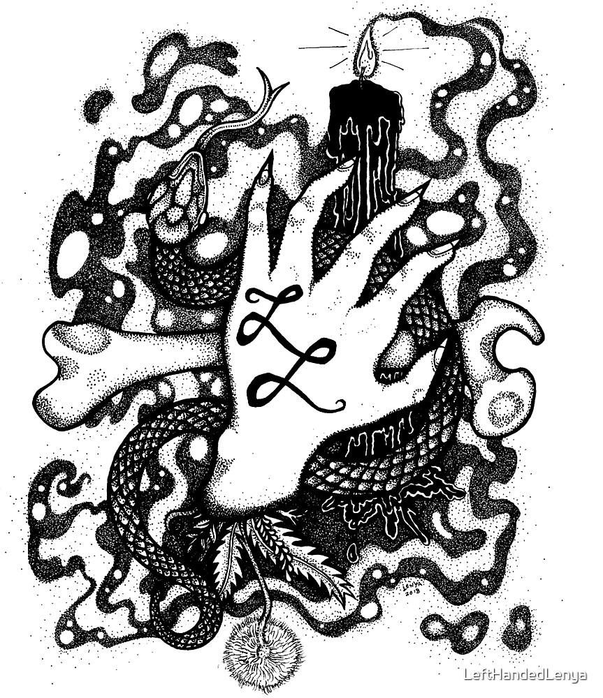 Lefthanded Lenya (official logo) by LeftHandedLenya