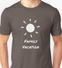 Family Vacation Unisex T Shirt
