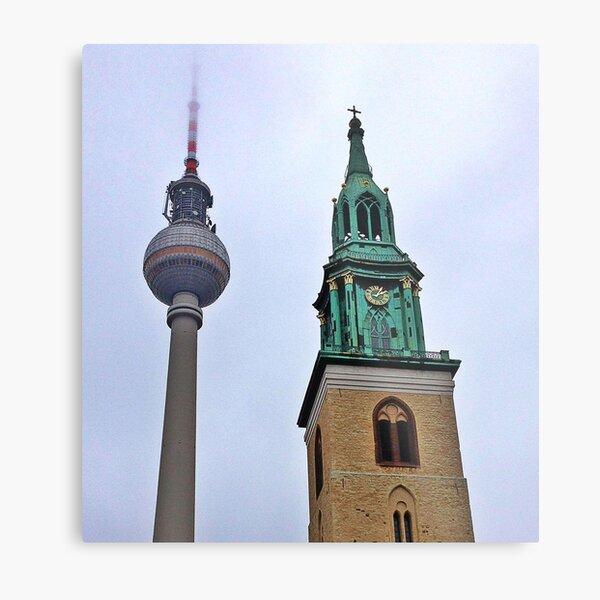 Towers, Berlin, Germany Metal Print