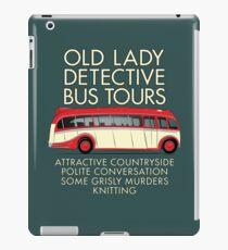Alte Dame Detective Bus Tours iPad-Hülle & Klebefolie