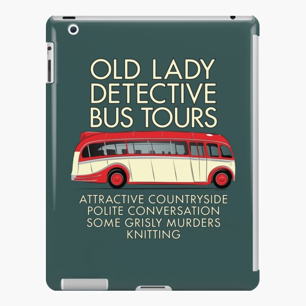 Old Lady Detective Bus Tours iPad Snap Case