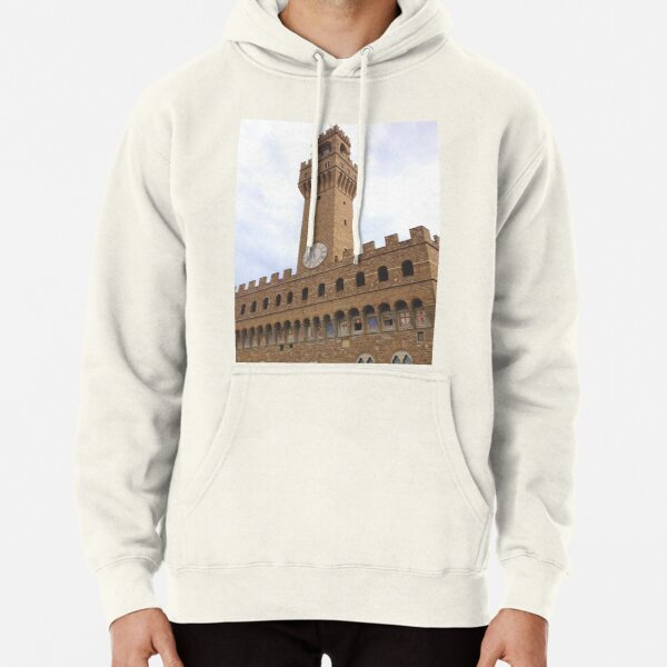 Palazzo Vecchio, Florence, Italy Pullover Hoodie
