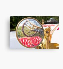 Rear View Mirror Canvas Print