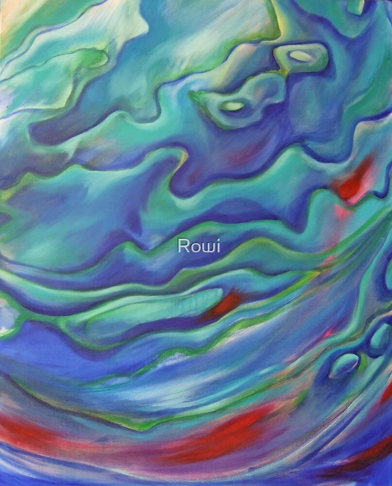 Blue & Green (Paua) by Rowi