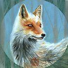 « Renard - Fox » par Castel Yvonne
