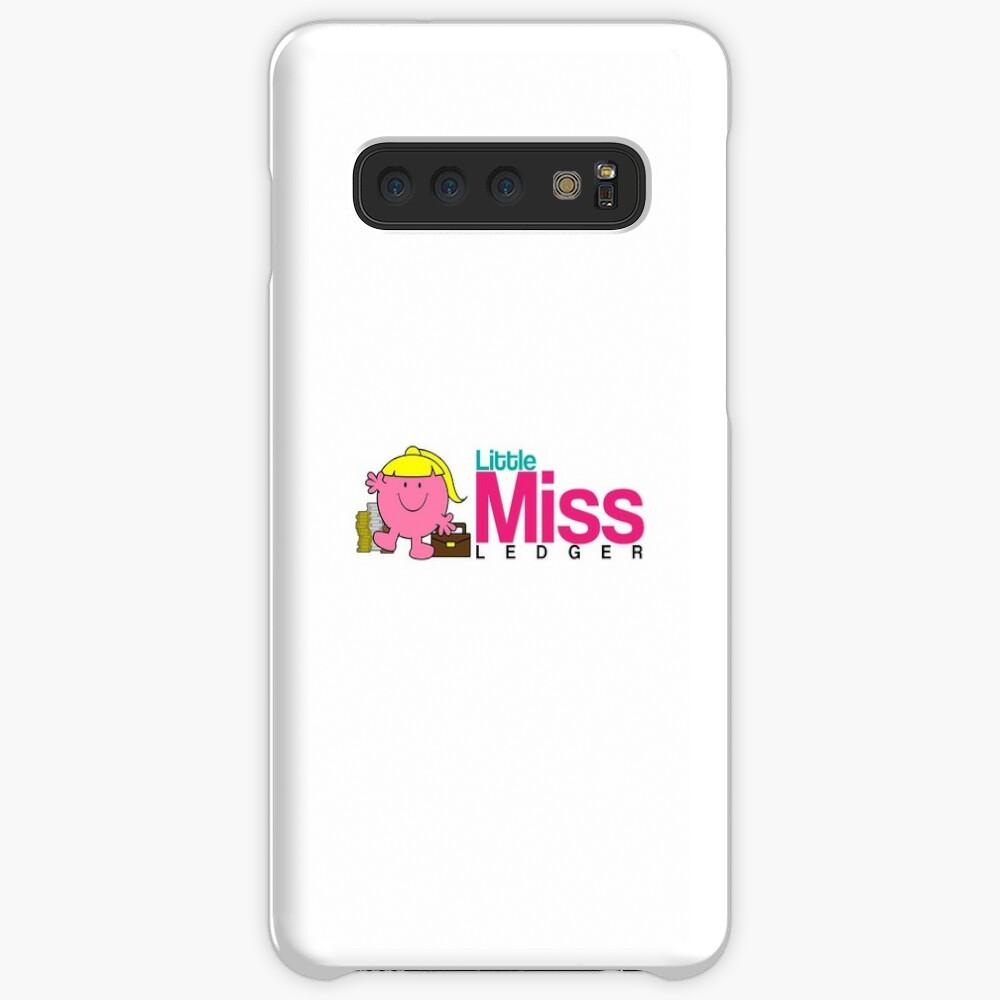 Little Miss Ledger Logo Case & Skin for Samsung Galaxy