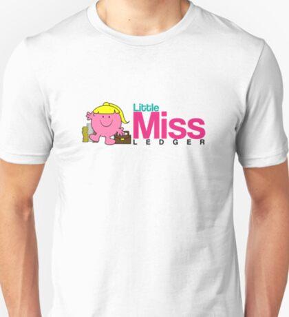 Little Miss Ledger Logo T-Shirt
