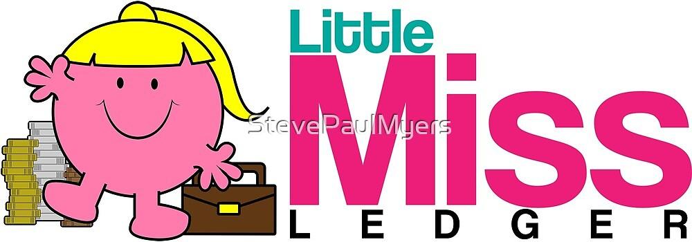 Little Miss Ledger Logo by StevePaulMyers