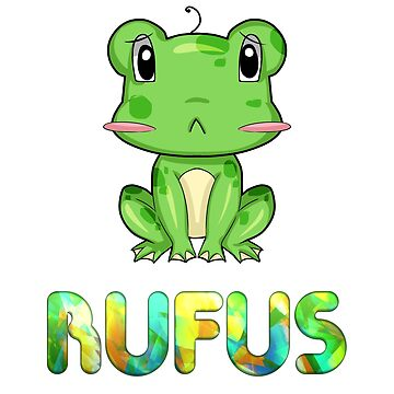Rufus Frog by Bestseller-hot