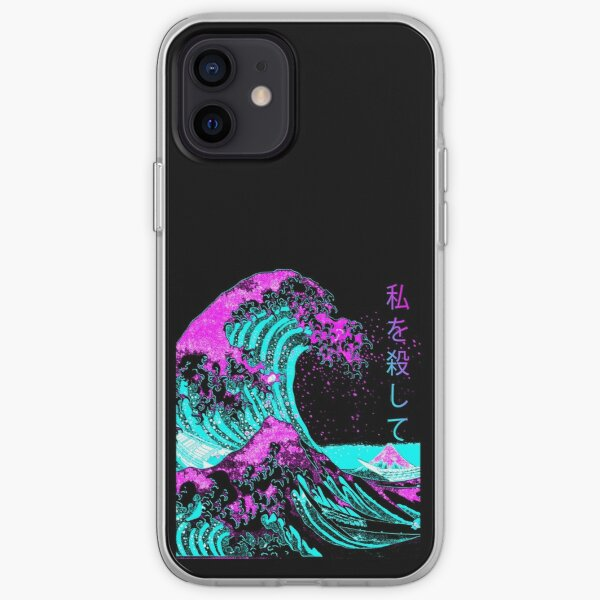 Esthétique: La Grande Vague au large de Kanagawa - Hokusai Coque souple iPhone