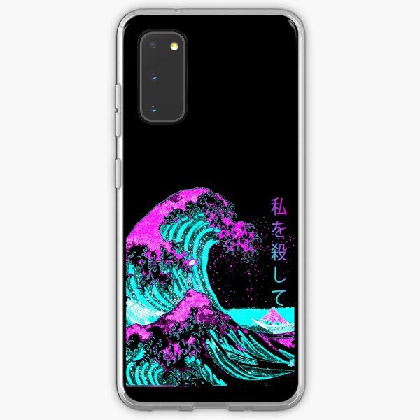 Aesthetic: The Great Wave off Kanagawa - Hokusai Samsung Galaxy Soft Case